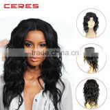 2016 New fashion aliexpress deep curly brazilian human hair free lace wig samples u part wig                                                                         Quality Choice
