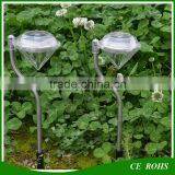 Garden Stake Solar RGB LED Lawn GrassSolar landscape lamp For Festival Party Yard Decoration