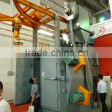 Spinner hanger shot blast machine/Dual hook sand blasting equipment/shot blasting machine