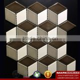 IMARK Mix Color Hexagon Ceramic Mosaic Tile/Hot Sale Art Wall Mosaic Tile / Kitchen Backsplash Wall Tile