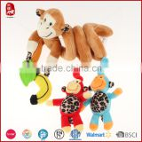 Cute design bayb bed hang toy musical instruments hot selling baby plush toy CHINA factory toys