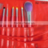 2014 high quality fashion makeup brushes Makeup brush sets for bamboo make up brushes accessories