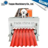 Hot selling wholesale color tile roof panel curving machine