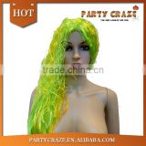 Long colorful women hair wig