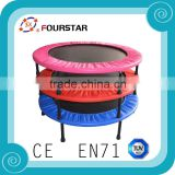 Exciting &Funny Outdoor Amusement Park Equipment Kids Colorful Trampoline with High Quality for Sale