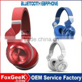 Multi function stereo bluetooth headset wireless headphone with memory card Stereo bluetooth eaphone