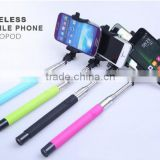 Selfie Stick with Build-in Bluetooth Shutter Button for using in various situation