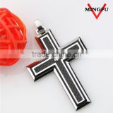 stainless steel jesus christ cross pendant