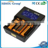 multifunctional charger is compatible with lithium batteries & nickel metal hydride batteries, 4 slotted Battery Charger