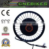 high power 120km/h 5000 watt hub motor electric rear wheel bike conversion kit