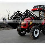 4 Wheel drive 100hp 110hp 120hp 130hp tractor and farm tractors with front end loader for sale