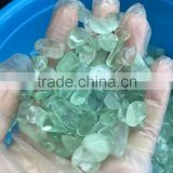 wholesale price of natural transparent stone different color on both sides crystal tourmaline