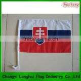 Wholesale Polyester Custom Car Window Flag For Outdoor Activity