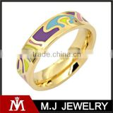 Mix wholesale hot selling in South American market enamel ring