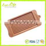 1pc big thin Waffle Silicone Cookie Mold Breakfast Cake Biscuit Baking Pan Chocolate Mold Kitchen Bakeware