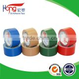 High tack duct cloth self adhesive tape for carpet
