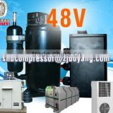 Solar dc compressor air conditioner for New Design Energy Saving Air Conditioners geothermal heat pump