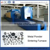 wc co powder high temperature continuous mesh belt fast sintering muffle furnace for sale