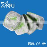 Disposable wholesale grade b stocklot baby diaper in bulk