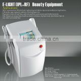 Portable Elight (IPL+RF) Hair Removal Beauty Equipment With Improve Flexibility Two Handles E009 Arms / Legs Hair Removal