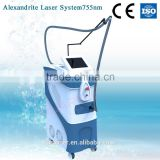 Great accessories and system to remove body hair permanent result and mainly aims at adult/755nm Alexandrite laser beauty machin