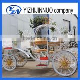Yizhinuo cinderella horse drawn carriage with LED lights exported to Lebanon