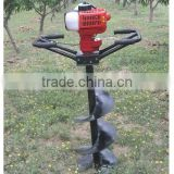 gasoline engine mini planting tree digging machine