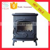 Modern wood burning stove manufacturer indoor fireplace factory price small cast iron wood stove