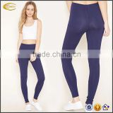 Ecoach women leggings and tops elasticized waist 94% cotton 6% spandex Heathered Knit fitness bulk wholesale leggings
