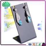 Wholesale Shop Counter Top Necklace Display Custom Earring Stand Black White Color Jewelry Holder