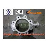 Corrosion Resistant Stainless Steel Butterfly Valve , EPDM Metal Seated Butterfly Valves