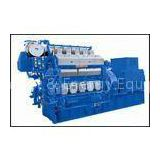 2000kw 2500kw Fuel Oil Gas Engine Generator For Remote Country / Ships