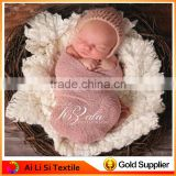 Hot Design Newborn Stretch Knit Wrap Photography Props Colorful Baby Warp Photo Props