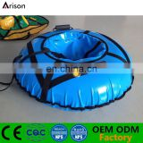 Round inflatable snow ring inflatable snow tube inflatable ski tube for parks