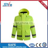 Fashionable reflective running raincoat for motocycle