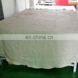 100% pure linen big round /square table cloth/table overylay for wedding in natural color