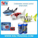 2015 remote control shark model kids mini plastic fish toy