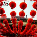 red lantern of Chinese new year favor
