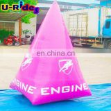 pink tower inflatable life buoy for water park