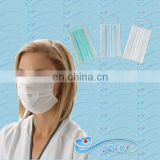 disposable 3-ply nonwoven face mask for surgical using