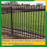 Zinc tubular steel fence steel tube fence panels