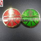 Hot selling copper sport medallion car chrome badge