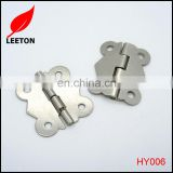 Good quality nickel butterfly butt hinge for jewelry box