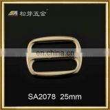 dongguan hardware accessories-fashionable slide buckle new design handmade ring buckle