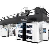 6 Colors Satellite Flexo Printing Machine