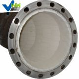 High hardness ceramic lined elbow pipe flange with low price