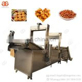Commercial Electric Kentucky Chicken Wing Fryer Potato Finger Sticks Slanty Chips Gas Fring Automatic Stir Fry Machine For Sale