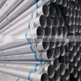 china tianjin factory small diameter thick wall Hot dipped Zinc coated Round Steel Pipe with low price