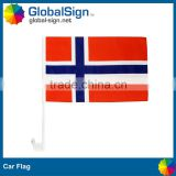 Singel sided polyester car flags