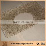 China G623 Granite Bathroom Vanity Tops, Stone Bathroom Custom Countertops with Sinks & Basins, Kitchen Vanity Top